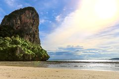 Пляж Railay в Krabi Таиланде ashurbanipal стоковое изображение rf