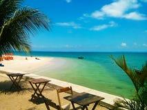 Пляж Ribeira, Сальвадор, Бахя, Бразилия Стоковые Фотографии RF