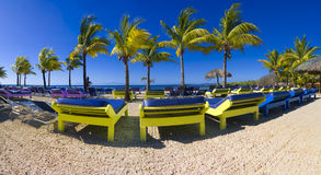 Пляж Roatan стоковое изображение