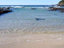 Пляж Rockpool 2 диаманта стоковая фотография