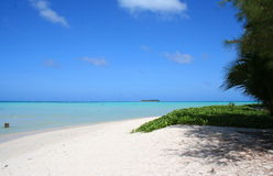 пляж saipan Стоковые Изображения RF