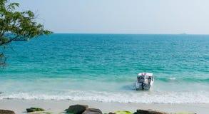 Пляж samet Koh в Таиланде стоковые изображения rf