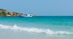 Пляж samet Koh в Таиланде стоковые фотографии rf