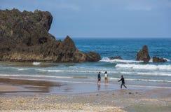 пляж san antolin стоковое фото rf