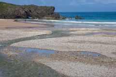 пляж san antolin стоковые изображения