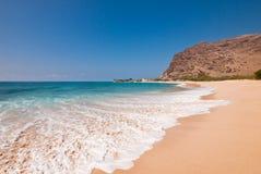 Пляж Sandy тропический Стоковые Фотографии RF
