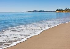 пляж santa Барвары Стоковое Фото