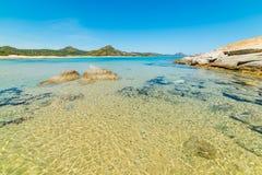 Пляж Scoglio di Peppino Стоковое Фото