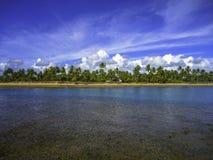Пляж Taipu de Форума, Бахя Стоковые Изображения RF