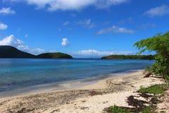 Пляж Tamarindo на Culebra в испанских Виргинских островах стоковые изображения