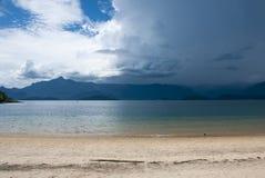 Пляж Tangua, Бразилия. Стоковые Изображения RF