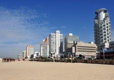 Пляж Tel Aviv Стоковая Фотография RF