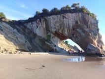 Пляж Tusan стоковое изображение rf