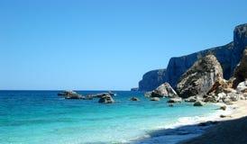 пляж undefiled Стоковое Изображение