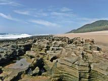Пляж Vidal накидки стоковые фото