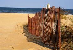 пляж virginia Стоковые Фотографии RF