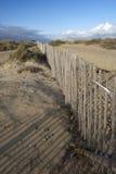 Пляж Walberswick, суффольк, Англия Стоковые Фото