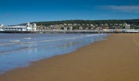 Пляж Weston-супер-Конематки Стоковые Фото