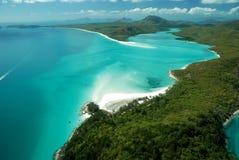 пляж whiteheaven Стоковые Изображения RF