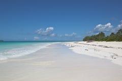 пляж zanzibar стоковое изображение rf