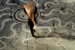 Побегите в Солнце Стоковая Фотография