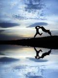 побегите женщина Стоковое Изображение RF