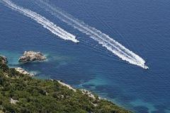побегите море Стоковое Изображение RF