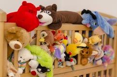 Побегите отсутствующие игрушки Стоковое Фото