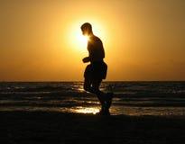 побегите солнце к Стоковые Изображения