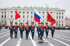 победа сыгровки парада дня Стоковая Фотография RF