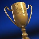 победитель трофея s иллюстрация вектора