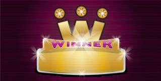 Победитель Стоковое Изображение