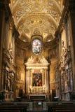 побежка rome santa maria interor della Стоковая Фотография RF