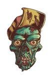 Побеждайте зомби Стоковые Изображения