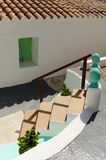 Побеленное среднеземноморское здание Стоковое фото RF