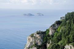 Побережье Амальфи в Италии стоковое фото rf
