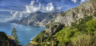 Побережье Амальфи, Италия Стоковое Изображение RF