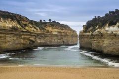 Побережье 12 апостолов, Австралия Стоковое фото RF