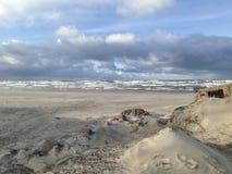 Побережье Балтийского моря Стоковая Фотография RF