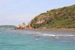 Побережье вокруг острова в Таиланде Стоковое Изображение