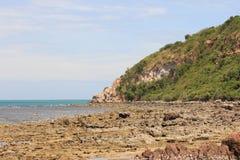 Побережье вокруг острова в Таиланде Стоковое Изображение RF
