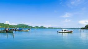 Побережье в деревне рыболова Koh yao yai стоковое фото rf