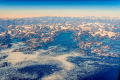 Побережье Гренландии стоковые фотографии rf