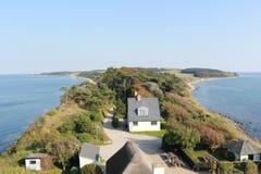 Побережье Дании, Европы стоковые изображения rf