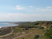 Побережье лимана Kuyalnik Стоковое фото RF