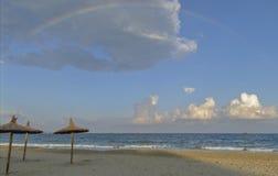 Побережье Испании, Ibiza Стоковое Изображение