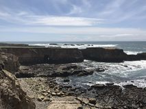 Побережье Калифорнии стоковое изображение