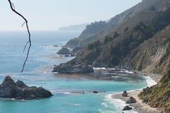 Побережье Калифорнии в летнем времени Стоковое Фото