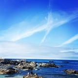 Побережье Калифорнии Стоковое Изображение RF