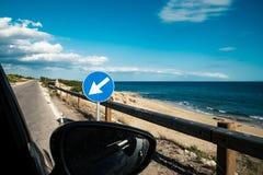 Побережье, который нужно поплавать вдоль побережья Стоковое Изображение